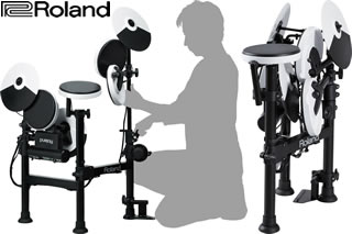 34b10c75a58 Drummerszone nieuws - Roland launches portable electronic V-Drum set