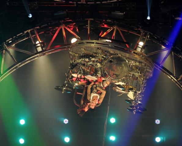Tommy Lee Drum Set Roller Coaster