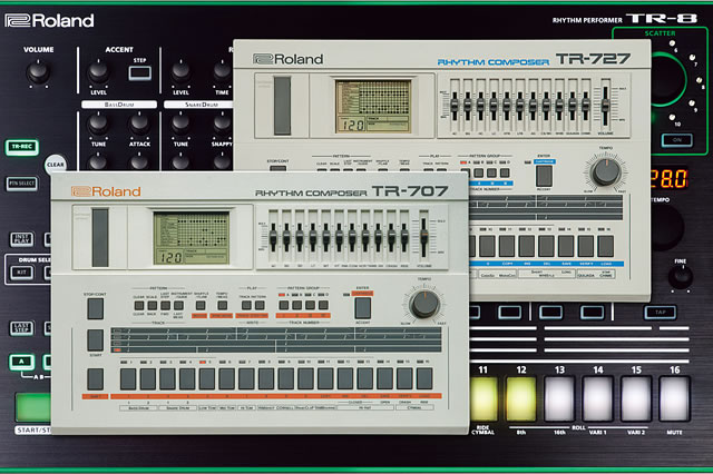 f330ea5acec Roland debuts 7X7-TR8 Drum machine expansion for TR-8 Roland is introducing  the ...