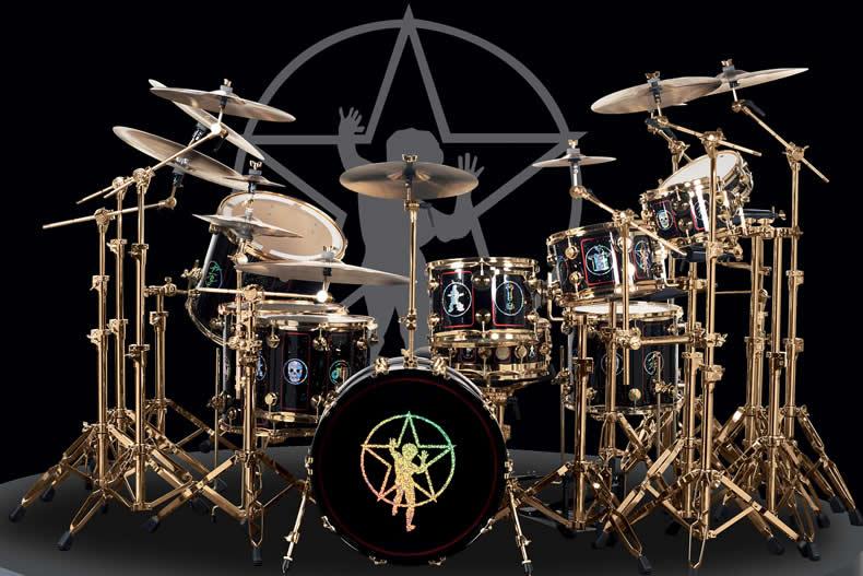 Drummerszone Nachrichten Neil Peart S R30 Drum Kit Recreated