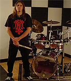 Drummer Joey Daub recording new Believer cd