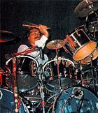 Rush drummer Neal Peart\'s original drum kit sells for $25,100