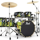 Pearl announces VSX graffiti graphic drum kit; Europe-only limited edition set heading for Musikmesse 2010