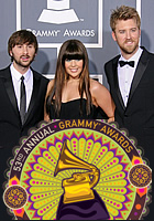 All winners of the 53rd annual Grammy Awards have been announced: country group Lady Antebellum turned out to be the biggest winner, taking home five trophies!