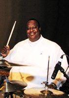 The new educational dvd 'Ultimate Drum Lessons: Gospel and R&B Drumming', hosted by godfather of modern gospel drumming Jeff 'Lo' Davis, is now available through Hudson Music