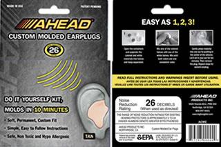 Ahead Custom Molded Earplugs (ACME)