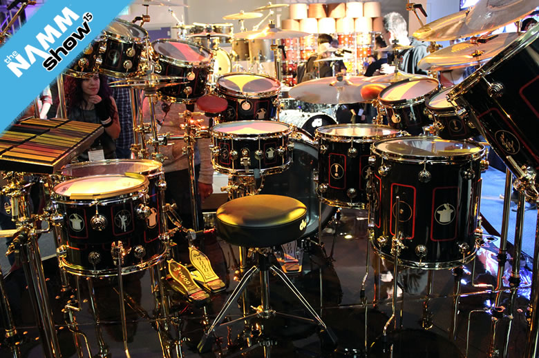 drummerszone news video neil pearts r40 tour kit