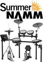 5aef9c79a1a Drummerszone nieuws - Roland displays TD-25 V-Drums at Summer NAMM
