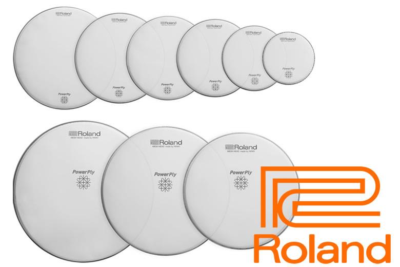 b8c15de9b79 Drummerszone nieuws - Roland s new PowerPly MH2 mesh heads