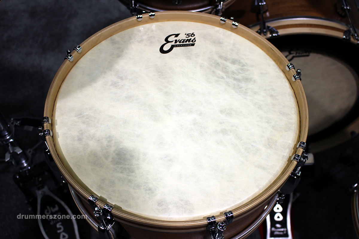 drummerszone news the new evans 56 calftone drumheads. Black Bedroom Furniture Sets. Home Design Ideas