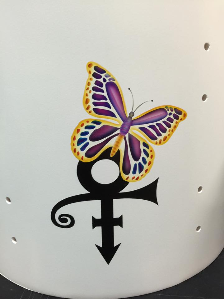 Image result for Sheila E Prince Symbol with Butterfly