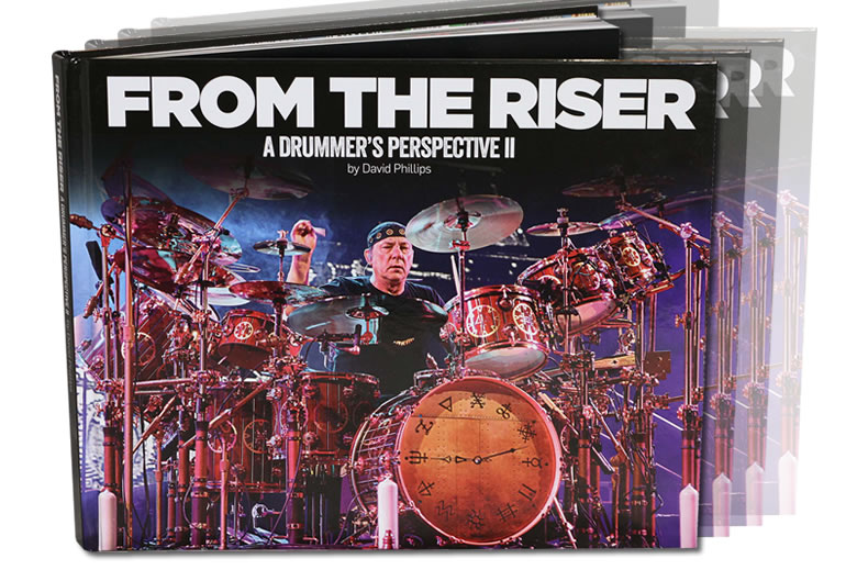 From The Riser - new book celebrating the world of drummers