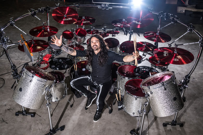 Aquiles Priester's new Color Sound 900 Cymbal Set