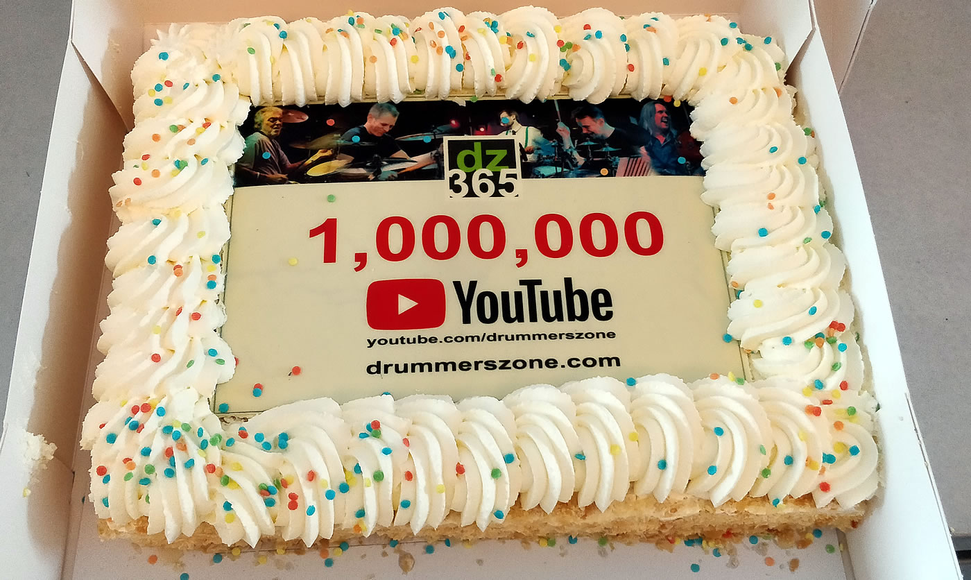 Drummerszone celebrates first million YouTube views