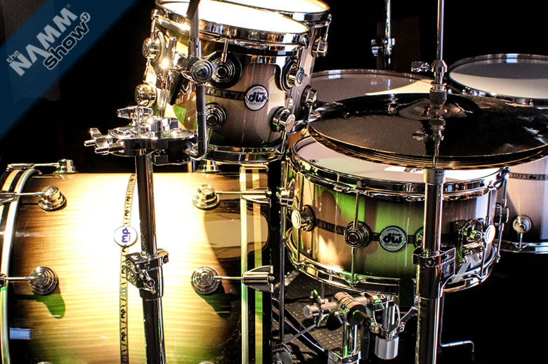 DW Drums Limited Edition Collector's Series 45th Anniversary drum set