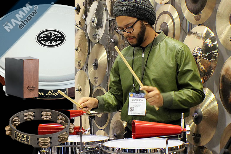 Versiculos De La Biblia De Animo: Gon Bops New 2017 Percussion Products