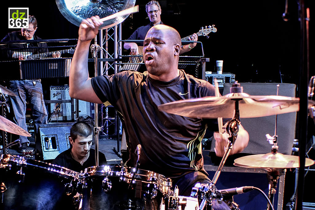 John Blackwell Jr at the Buddy Rich 25th Anniversary Memorial Concert