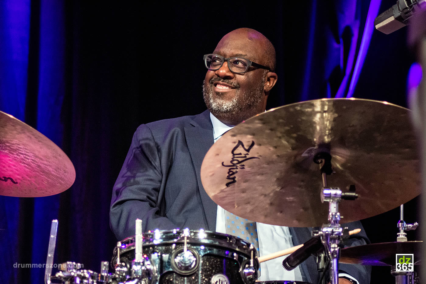 Jazz Icon Carl Allen joins Vater Percussion - picture from the North Sea Jazz Festival 2017