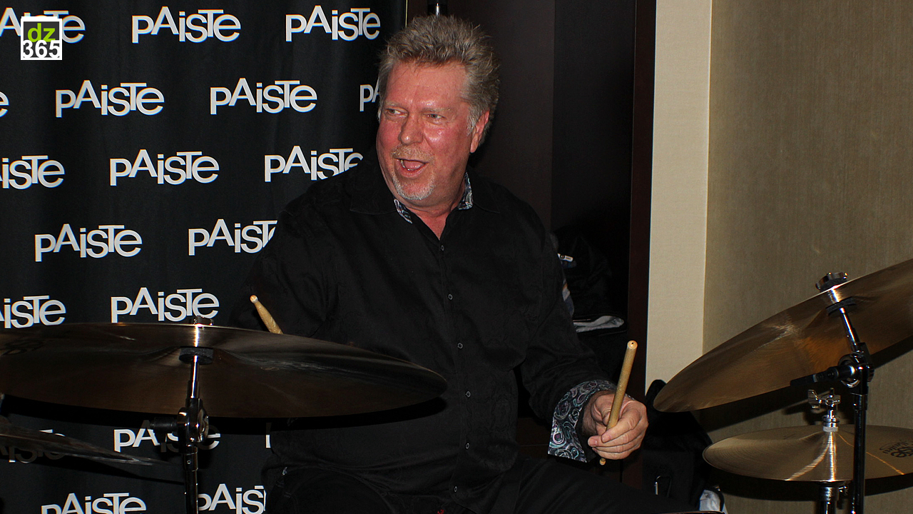 John JR Robinson demos Paiste Masters Thin, Thin Hi-Hat and Swish models