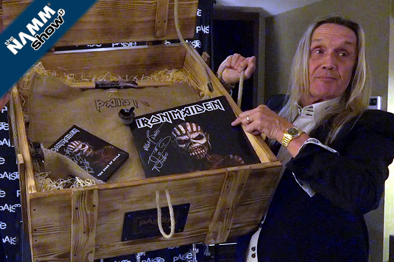 Nicko McBrain's demos his Paiste Treasures - Iron Maiden drummer reveals his cymbal stories