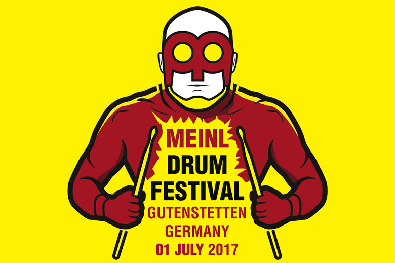 One week until Meinl Drumfestival 2017