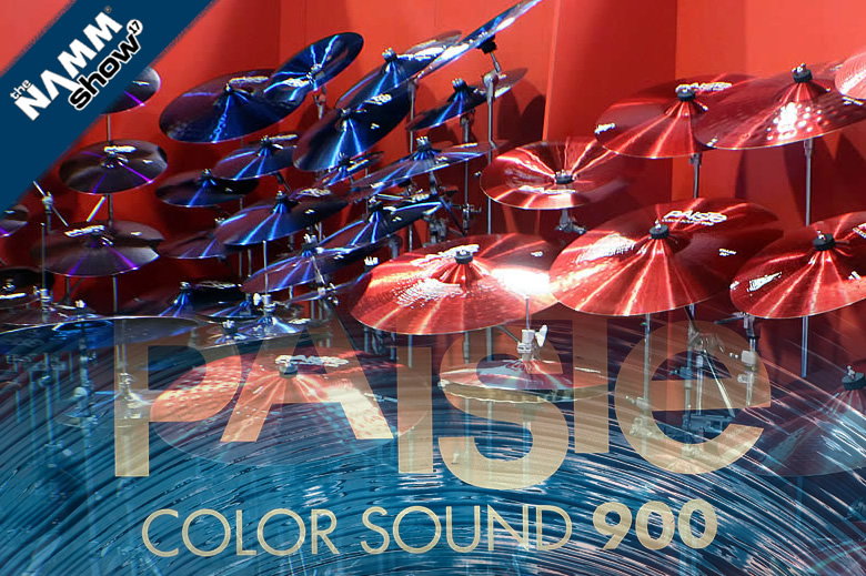Paiste videos: the Color Sound 900 series - the Swiss Army of Cymbals at NAMM 2017