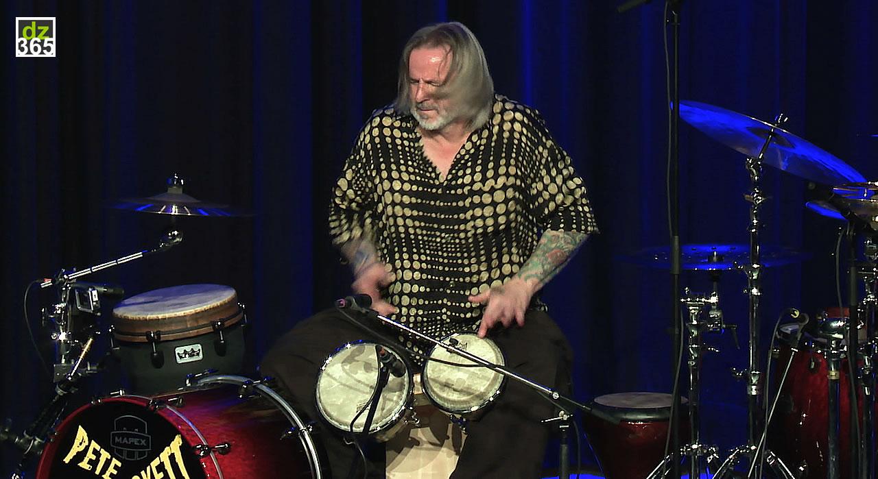 Pete Lockett talks and plays: Prism