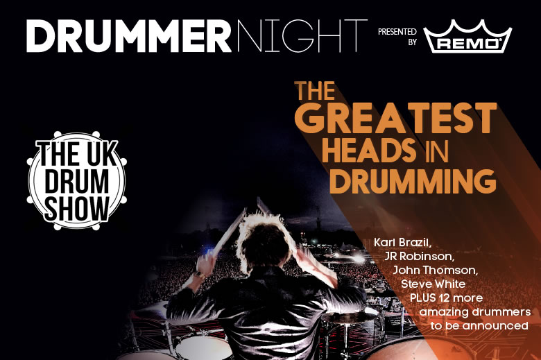 Remo Drummernight 2017 featuring Karl Brazil, John JR Robinson and Steve White