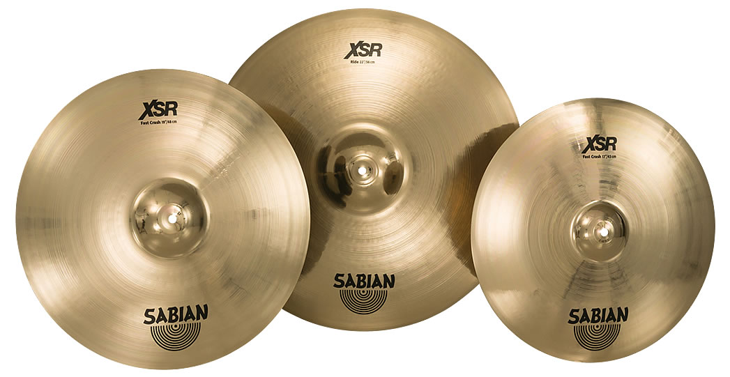 Sabian adds 3 cymbals to XSR line - New Fast Crashes and a new 22\