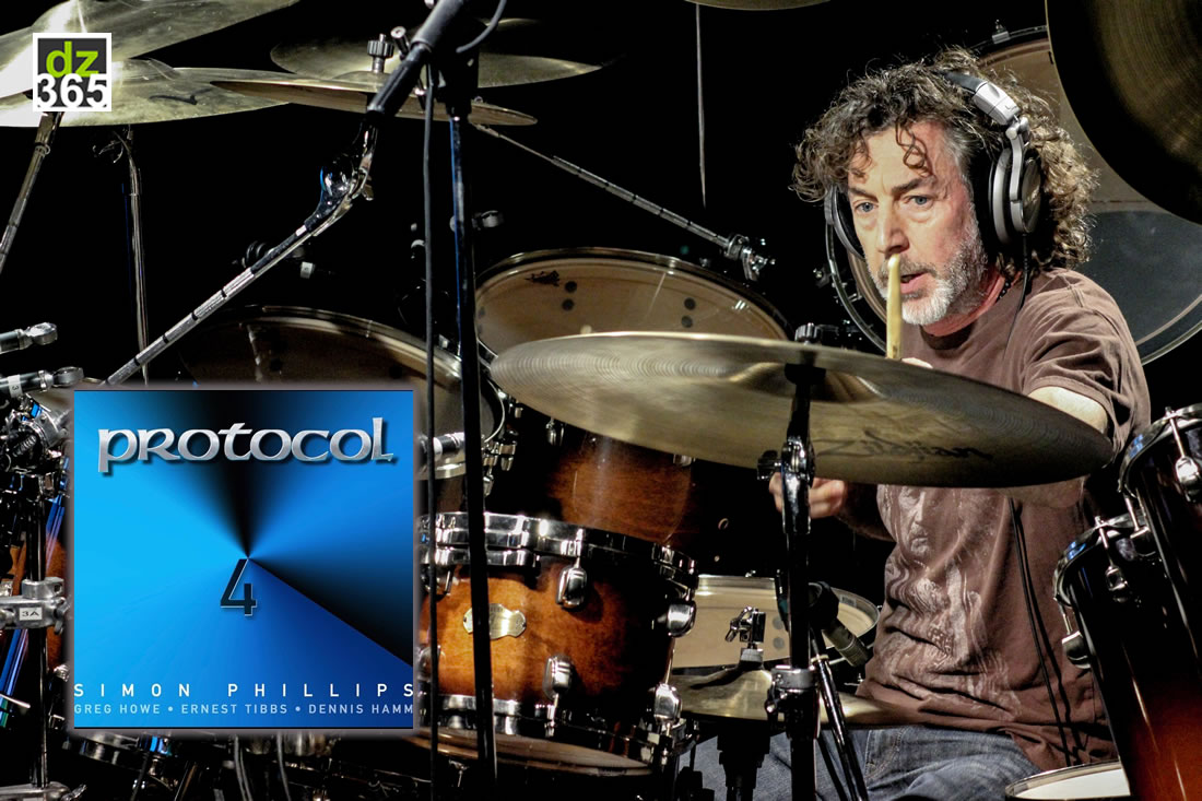 Simon Phillips releases Protocol 4