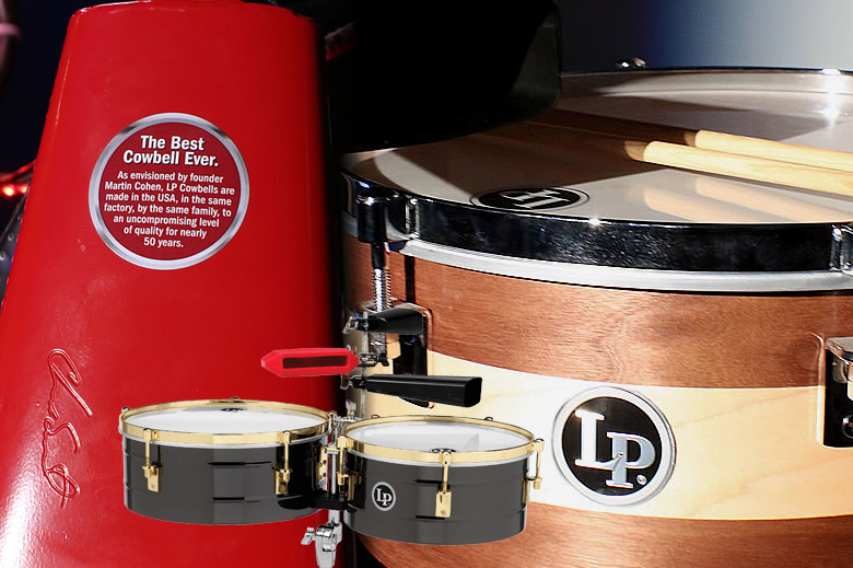 The Giovanni, Chad, Fausto and Sheila E. LP Signature Series - Videos of Latin Percussion's new top of the line instruments