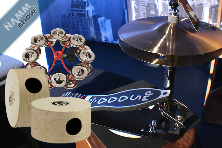 The LP/DW Latin Drum Set for percussion - Multi functionality with LP instruments