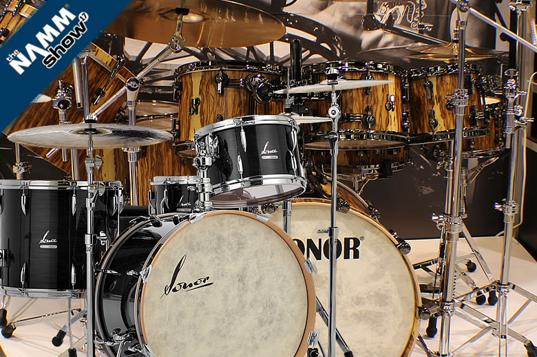 The new Sonor SQ2 and Vintage Series finishes for 2017 - Including a 3-year Vintage Series history