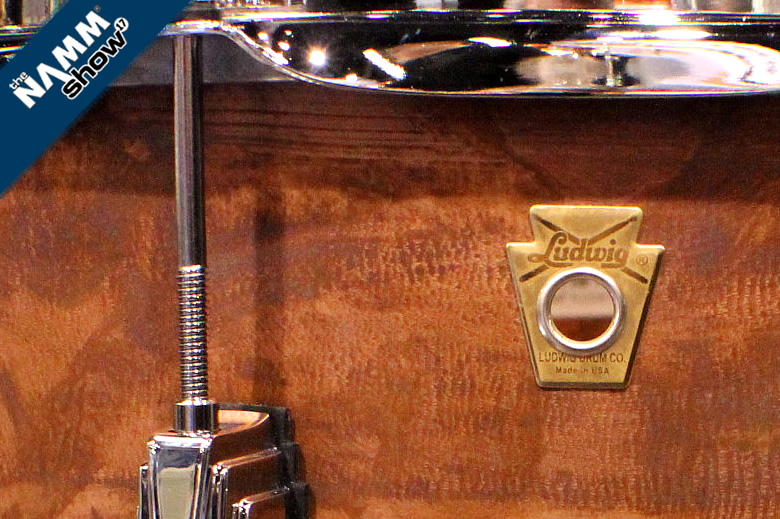 Video demos of the new 2017 Ludwig snare drums - Copper, Steel and Maple are the new beats