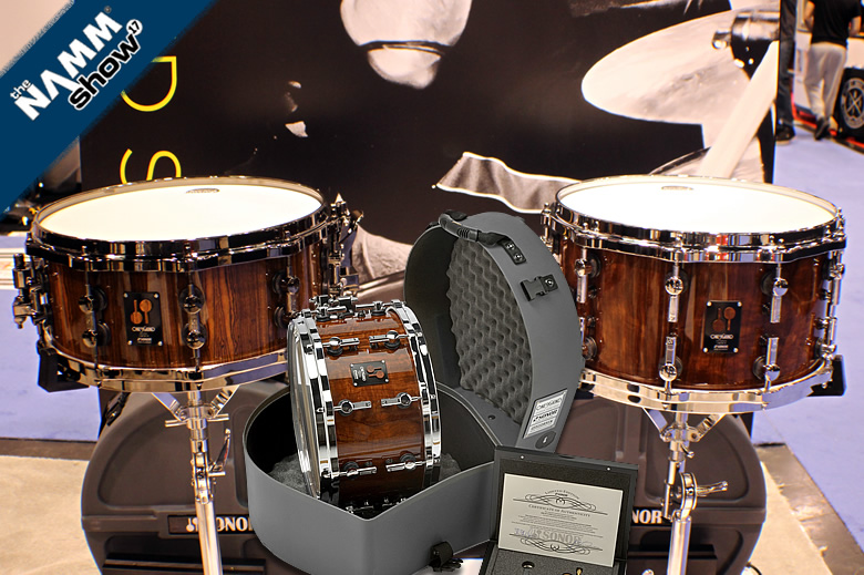 Videos Sonor 2017 One Of A Kind Bocote and Cocobolo - A video history of Sonor's high level snare drums
