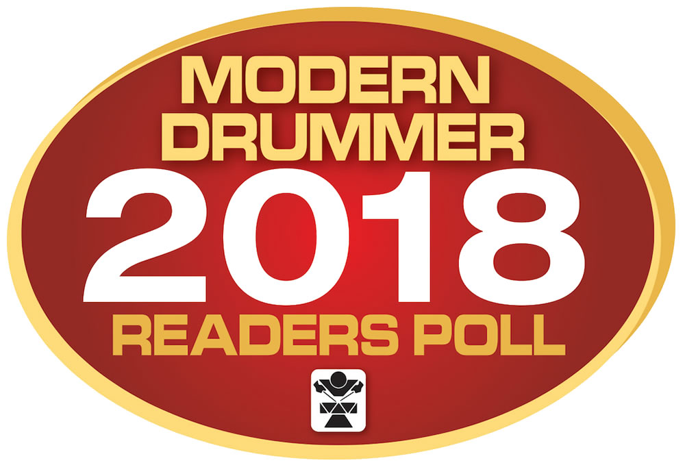 Vote in the 2018 Modern Drummer Readers Poll - Choose the best from the best
