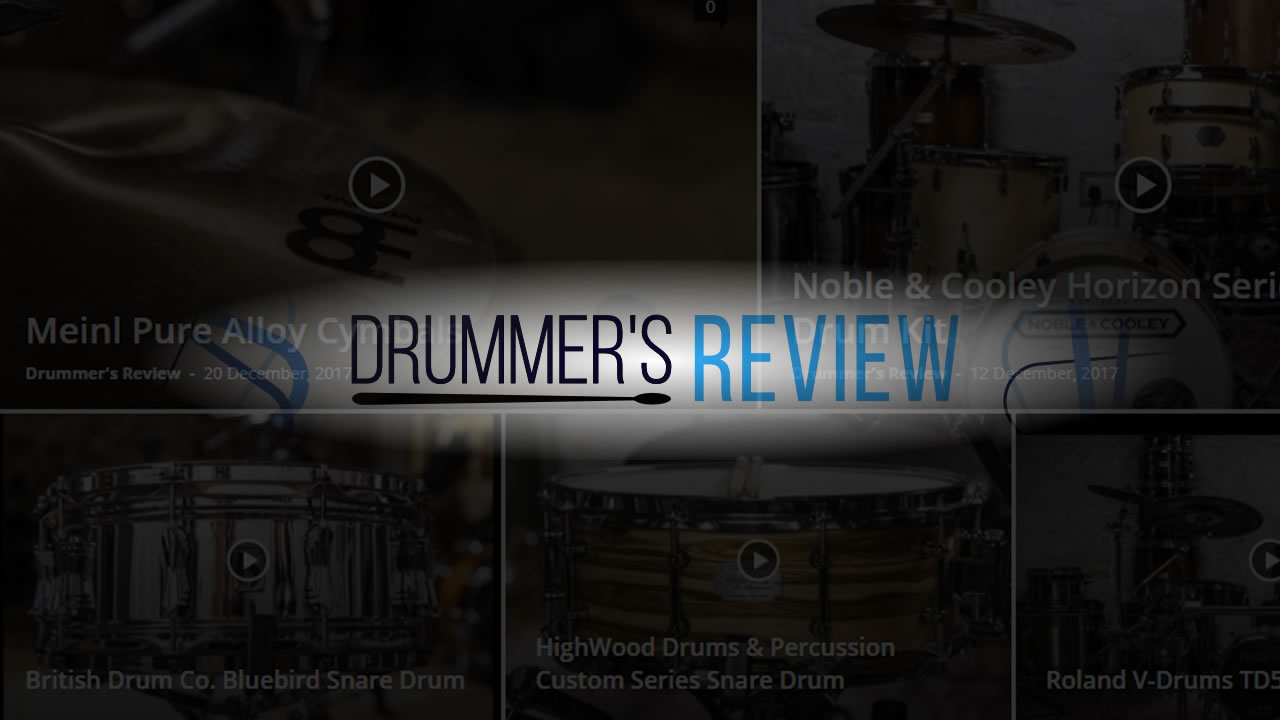 Watch the first videos of DrummersReview.com - UK Gear Channel has promising first quarter