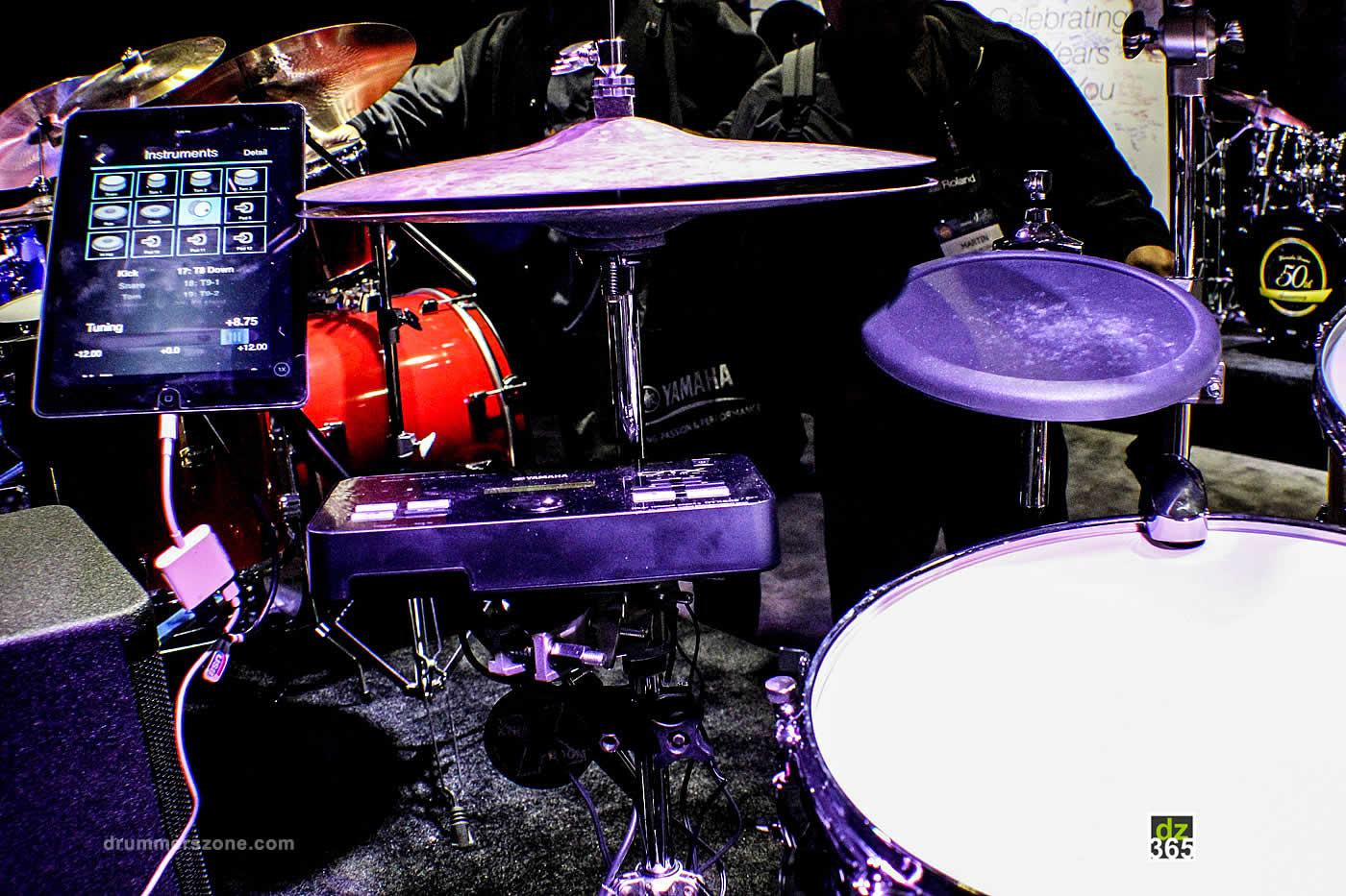 drummerszone notizie yamaha dt50 drum triggers at namm 2017. Black Bedroom Furniture Sets. Home Design Ideas