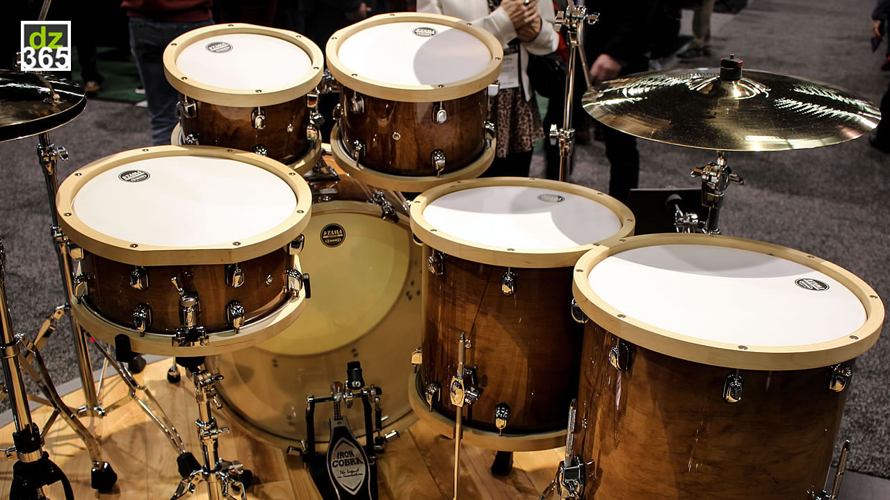 3 new Tama S.L.P. Drum Kits in 3 videos - Snare drums turned into full drum sets