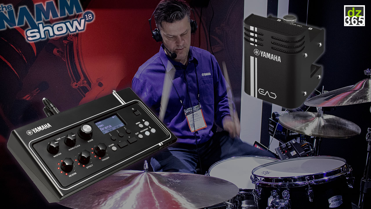 Video Demo: Yamaha makes hybrid drumming easy with the EAD10
