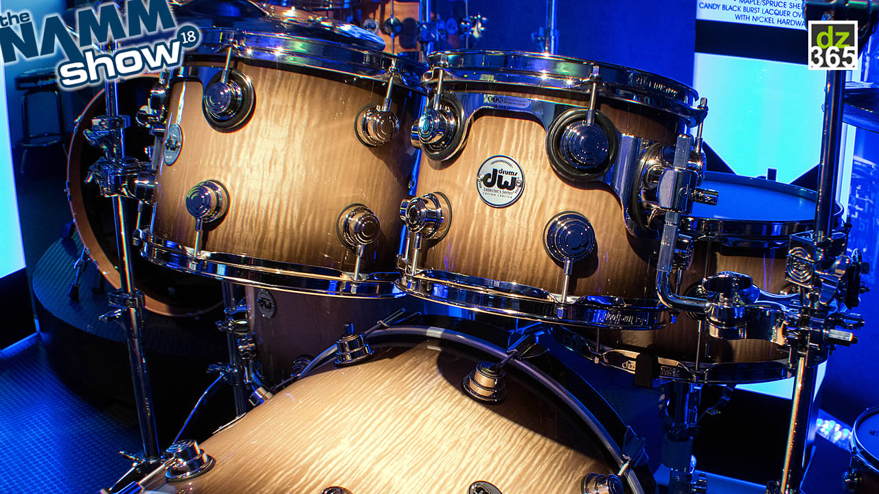 DW Collector\'s Series Hybrid Spruce drums - A spruce core with different inner and outer plies