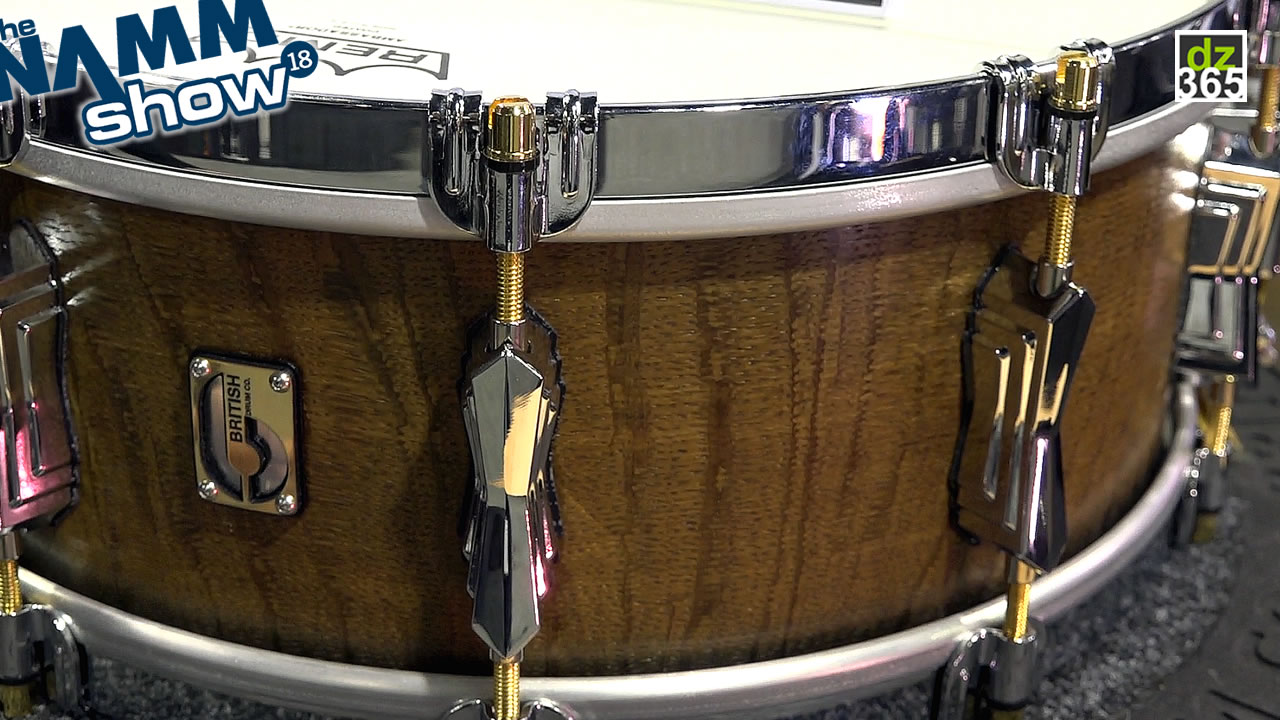 Meet \'The Duke\' - a 3000 year old British Drum Company snare drum
