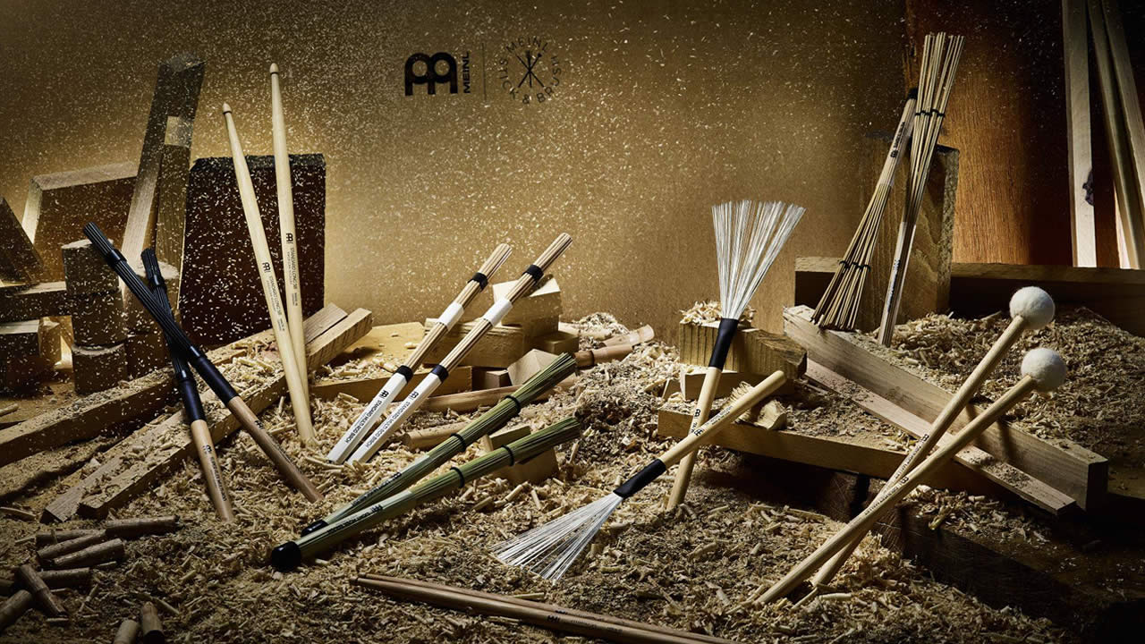 Meinl is back at stick manufacturing - All Sticks & Brush products made in Germany