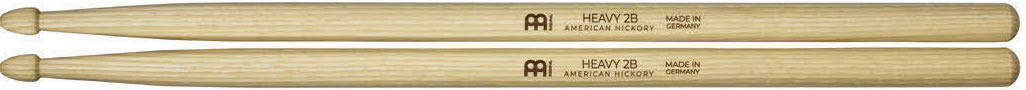 Meinl Stick and Brush - 2B Acorn Tip Medium-Heavy / Heavy Hickory