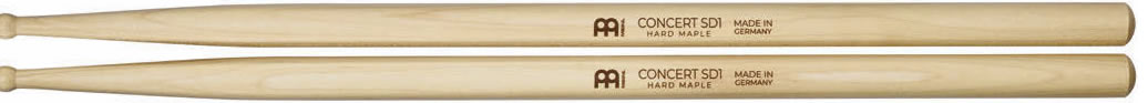 Meinl Stick and Brush - SD1 Round Tip Medium Maple