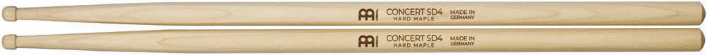 Meinl Stick and Brush - SD4 Barrel Tip Light Maple