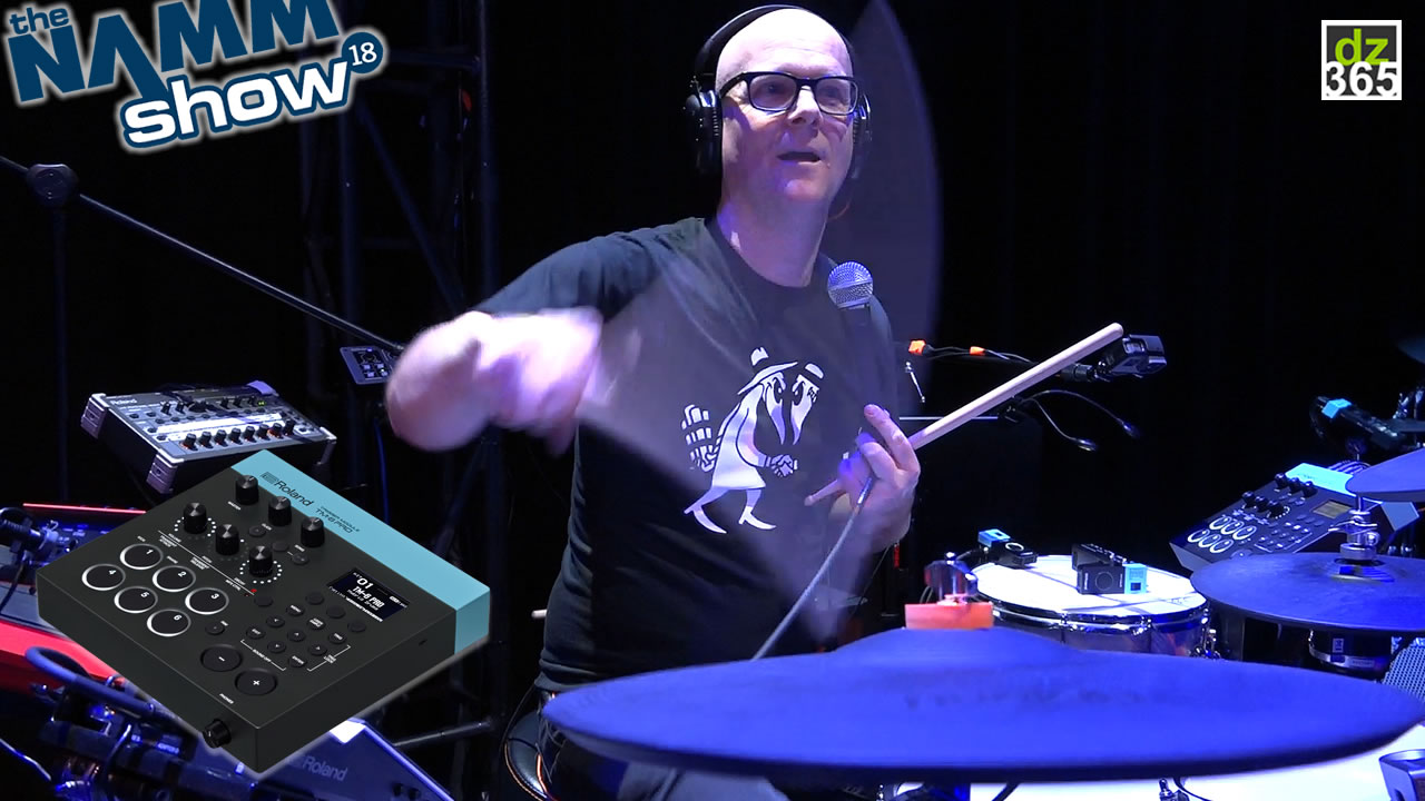 Michael Schack demos the new Roland TM-6 Pro - Full demo Live at Winter NAMM 2018