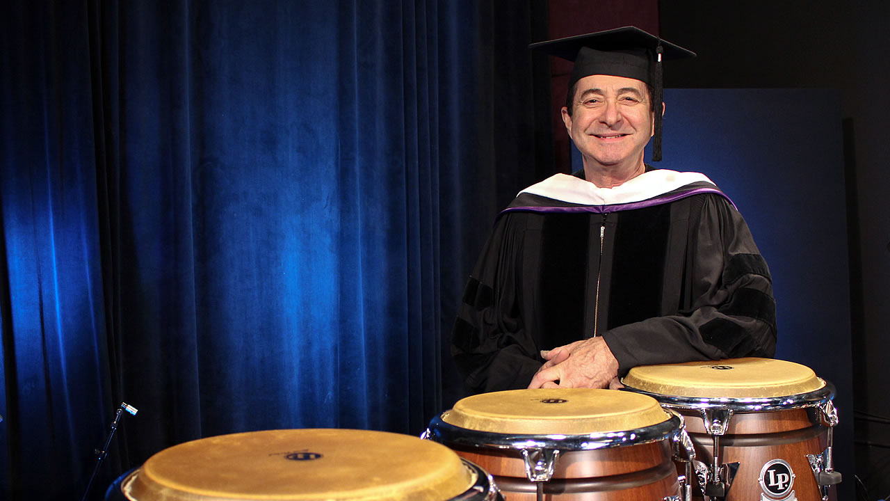 Richie Gajate-Garcia receives Honorary Doctorate