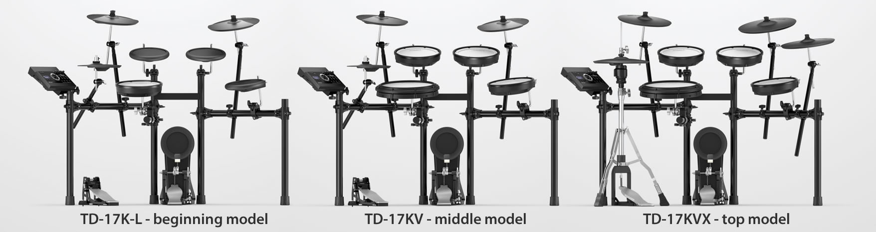 Roland TD-17 - the new V-Drums kits explained