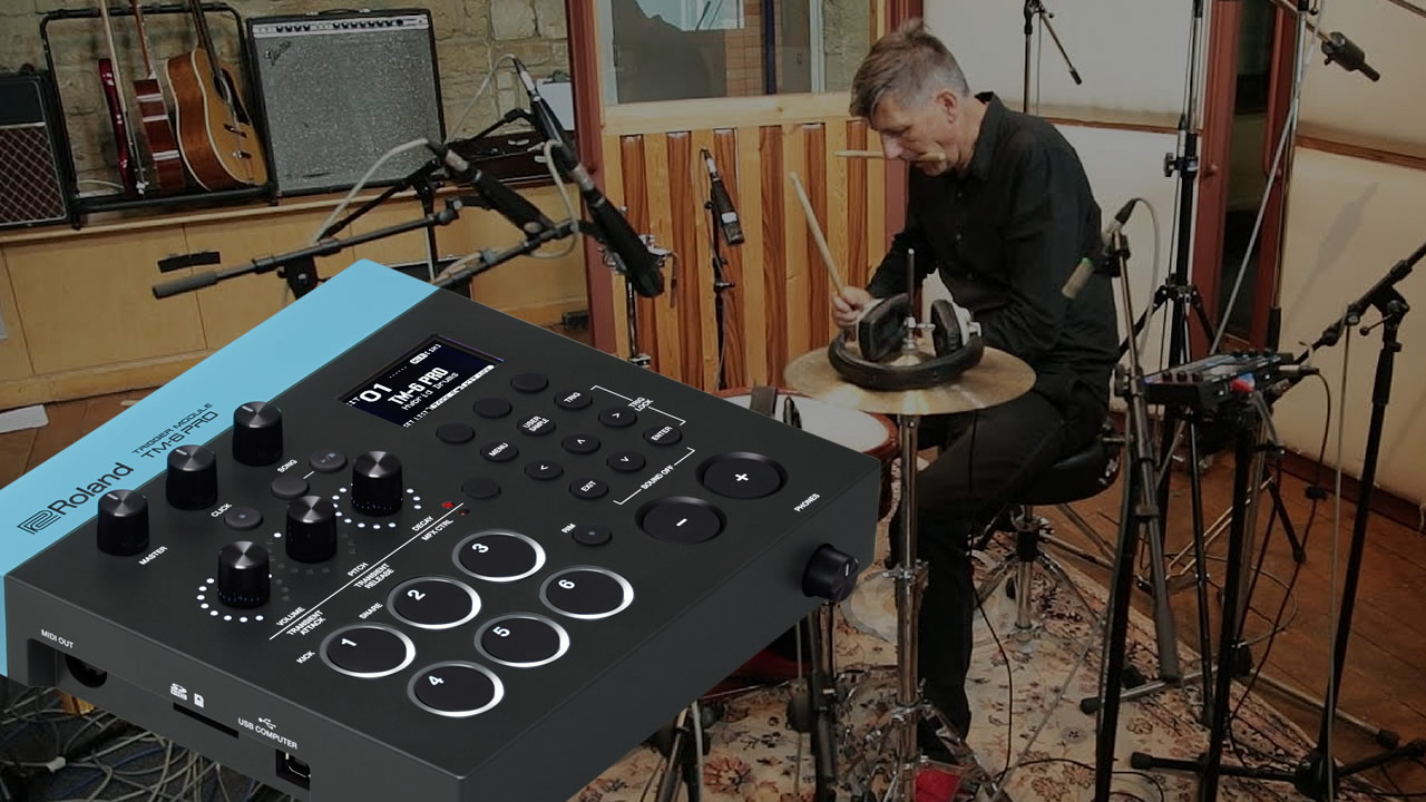 The 500 Roland TM-6 Pro sample recordings explained - With Michael Schack, Kaz Rodriguez and Chris Whitten